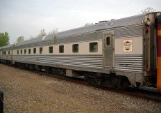 New York Central #447 dining car
